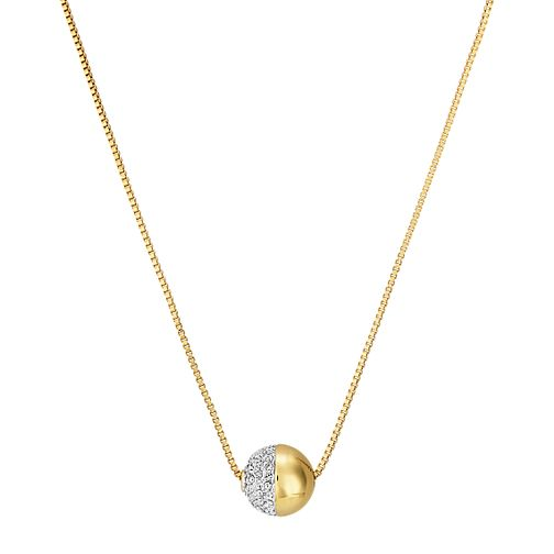 Buckley London Greenwich Yellow Gold Tone Crystal Pendant - Product number 5164451
