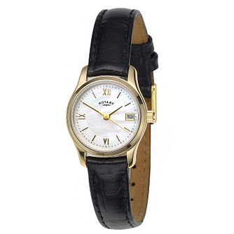 Rotary Ladies' Timepieces Black Leather Watch - Product number 5164516