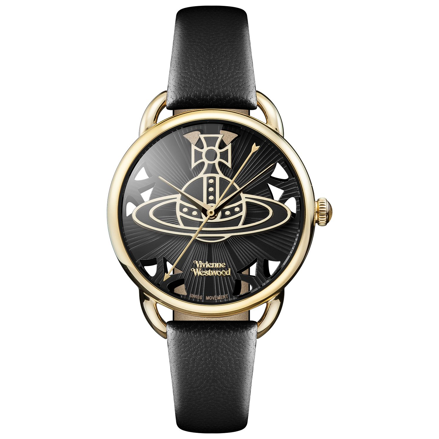 Vivienne Westwood Ladies' Gold Tone Strap Watch - Product number 5168058