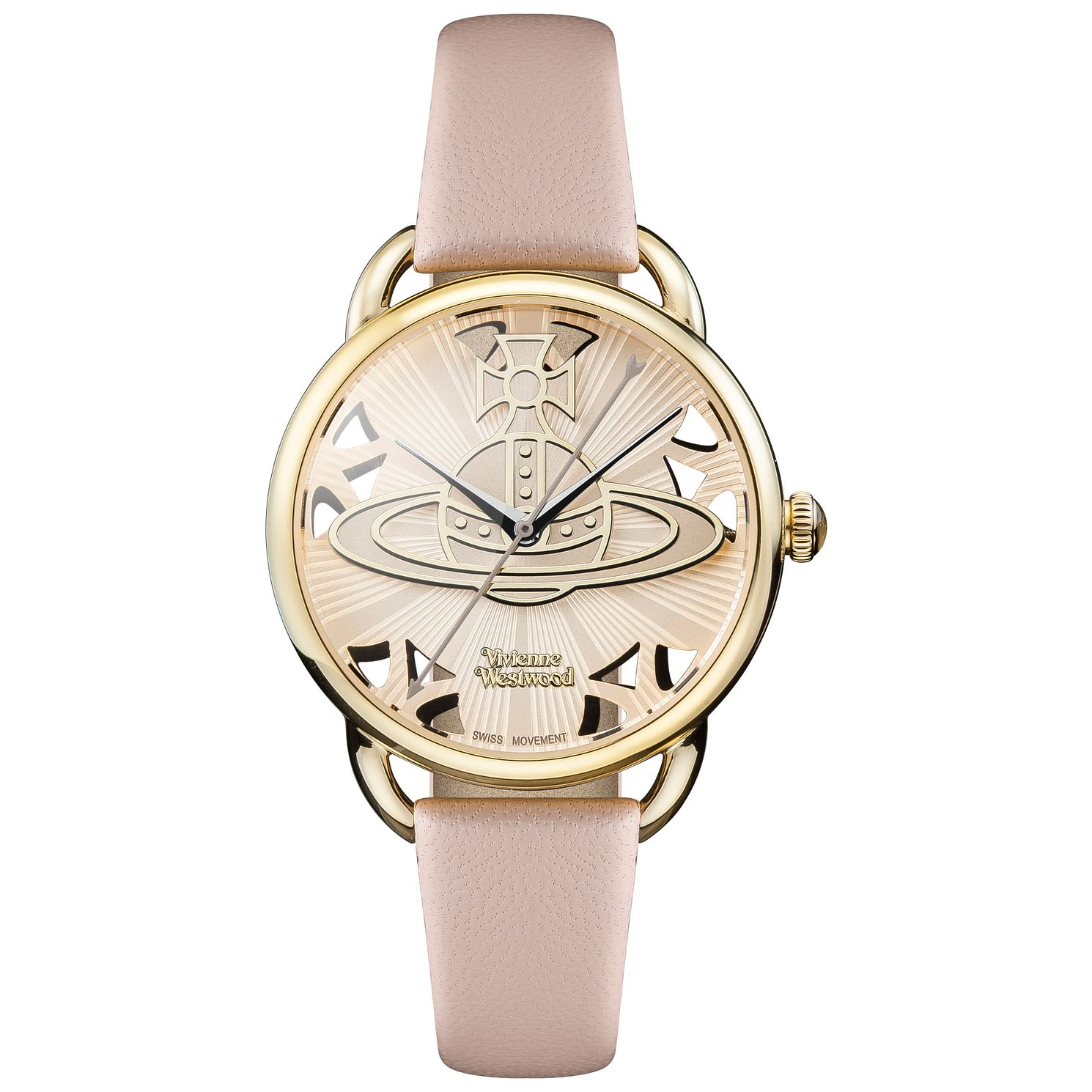 Vivienne Westwood Ladies'  Gold Tone Strap Watch - Product number 5168066