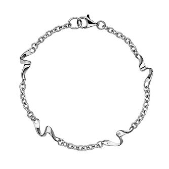 Hot Diamonds Sterling Silver Pirouette Bracelet - Product number 5168791