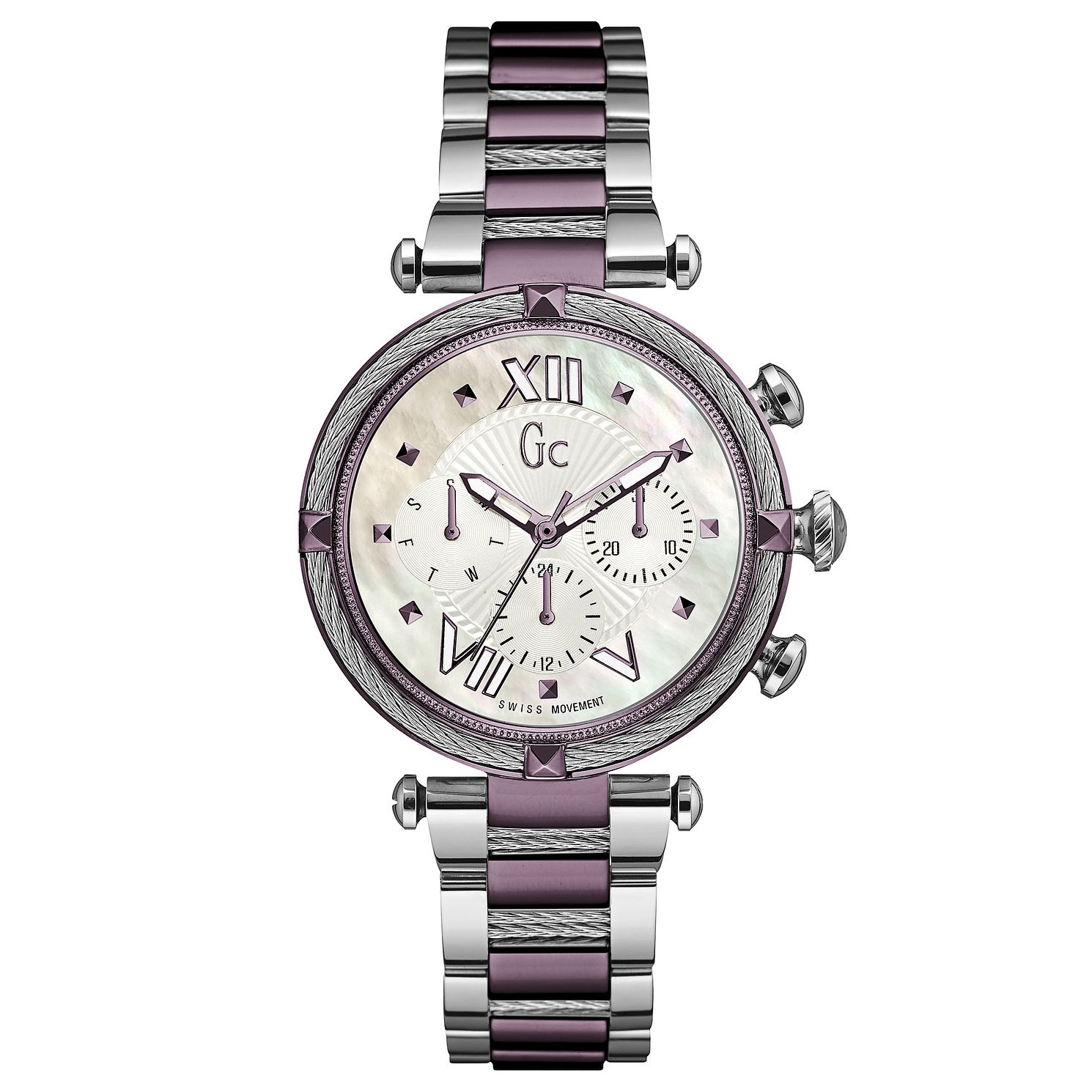 Gc Lady Chic Ladies' Two Colour Bracelet Watch - Product number 5177723