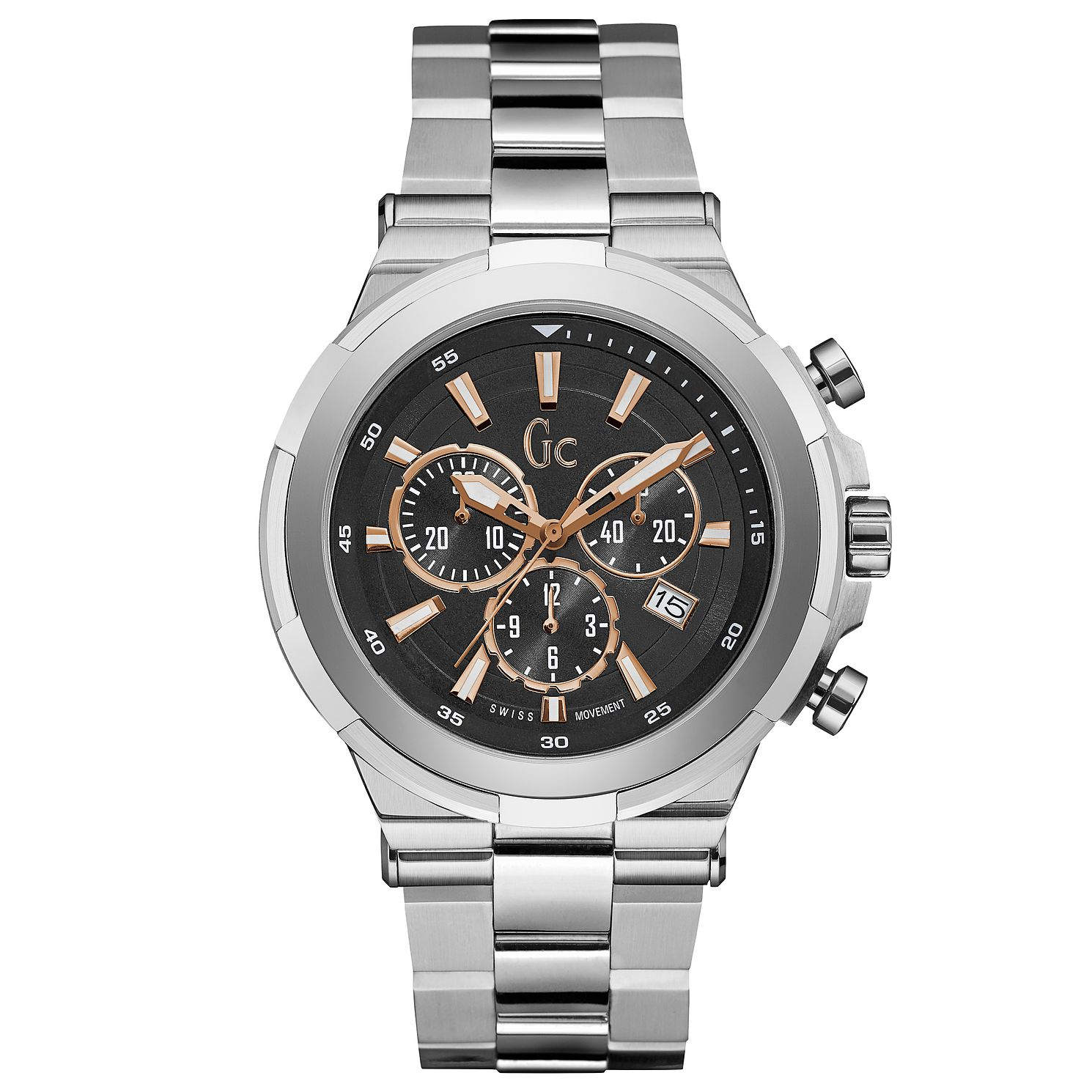 Gc Structura Men's Stainless Steel Bracelet Watch - Product number 5177847