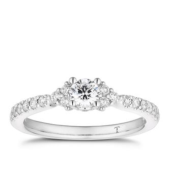 Tolkowsky 18ct White Gold 0.50ct Total Diamond Ring - Product number 5182980