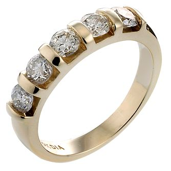 9ct Gold Diamond Eternity Ring - Product number 5183278