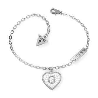Guess G-Shine Silver Tone Swarovski Zirconia Bracelet - Product number 5190177