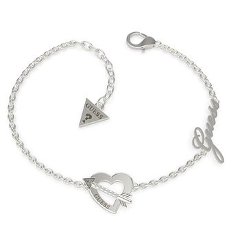 Guess Across My Heart Steel Swarovski Zirconia Bracelet - Product number 5190304