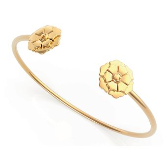 Guess Peony Yellow Gold Tone Bangle - Product number 5190347