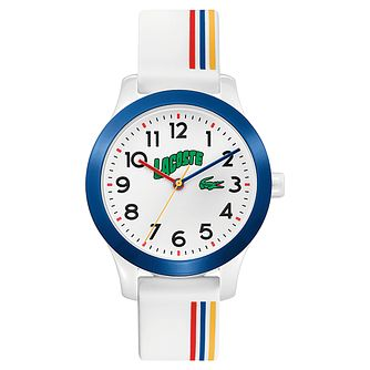 Lacoste Kids' Coloured Silicone Strap Watch - Product number 5190703