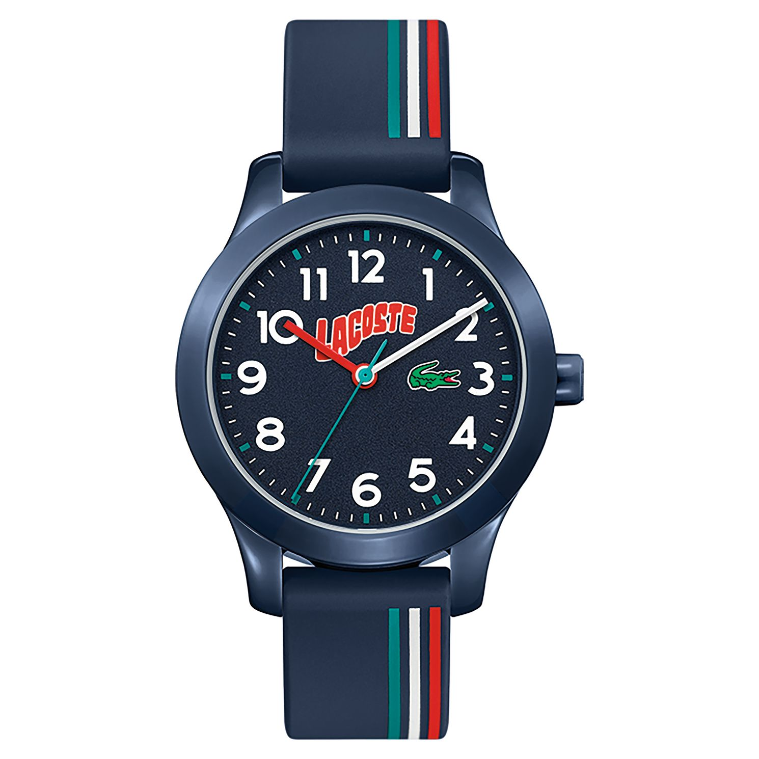Lacoste 12.12 Children's Blue Silicone Strap Watch - Product number 5190711