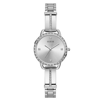 Guess Bellini Crystal Ladies' Stainless Steel Bracelet Watch - Product number 5190800