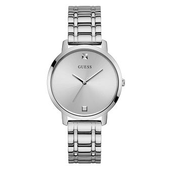 Guess Nova Crystal Ladies' Stainless Steel Bracelet Watch - Product number 5191041