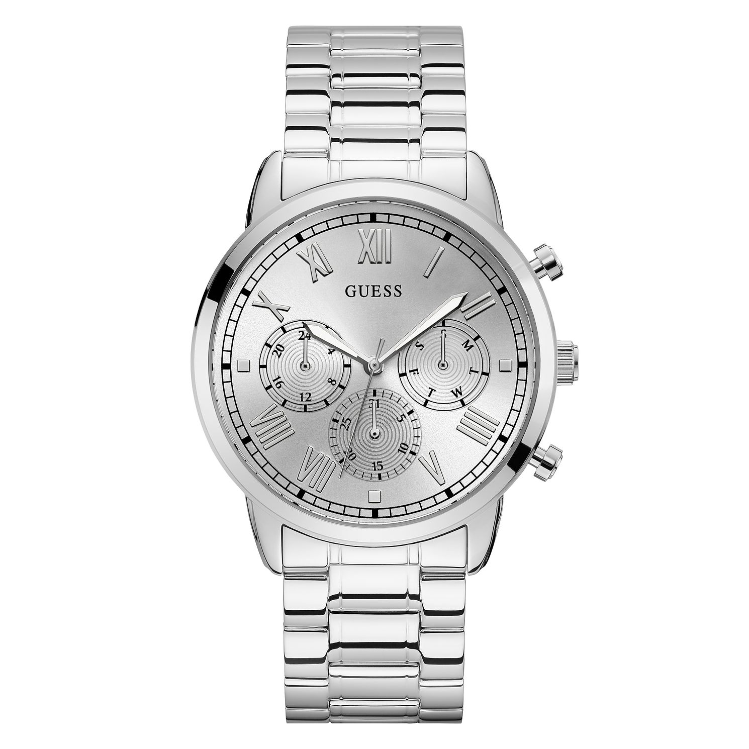Guess Hendrix Men's Stainless Steel Bracelet Watch - Product number 5191289