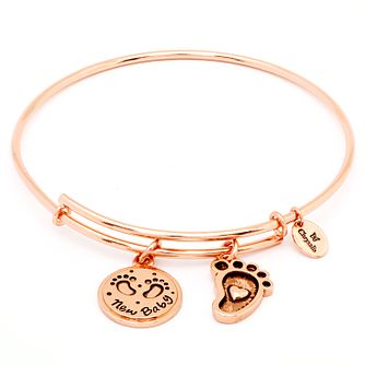 Chyrsalis Rose Gold plated New Baby Bangle - Product number 5192285