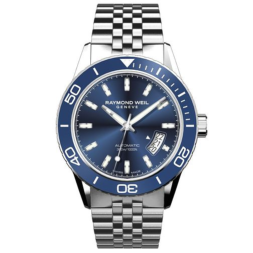 Raymond Weil Freelancer Men's Stainless Steel Bracelet Watch - Product number 5192455