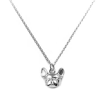 Dog Fever Silver French Bulldog Muzzle Pendant - Product number 5194660