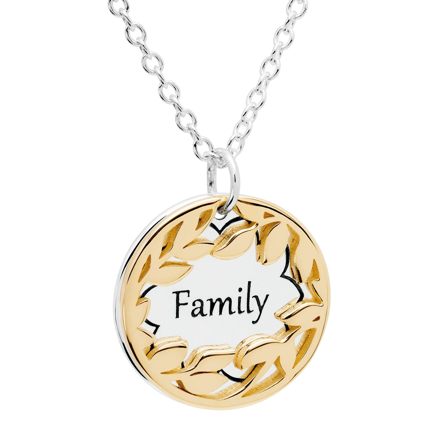 Chamilia Gold Electroplated Family Treasure Necklace - Product number 5196361