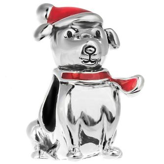 Chamilia Sterling Silver Feeling Festive Dog Bead - Product number 5196779