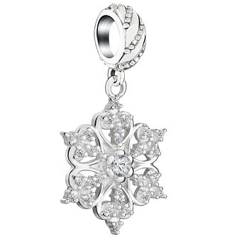 Chamilia Sterling Silver 2016 Brilliance Snowflake Charm - Product number 5196841