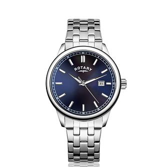 Rotary Men's Stainless Steel Bracelet Watch - Product number 5198038