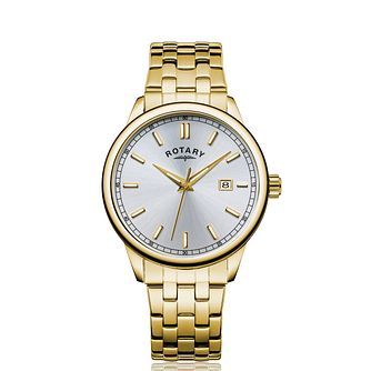 Rotary Men's Gold Tone Bracelet Watch - Product number 5198046