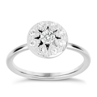 60308f196 Chamilia Heirloom Lace Regal Sterling Silver Ring Size XS - Product number  5198623