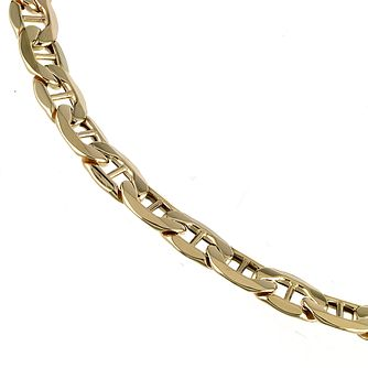 9ct Yellow Gold 7.25 Inch Marina Chain Bracelet - Product number 5199891