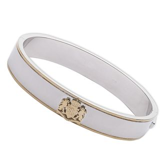 Lauren Ralph Lauren Sterling Silver Two Tone Crest Bangle - Product number 5199964