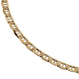 9ct Yellow Gold Figaro Anchor Chain - Product number 5200229