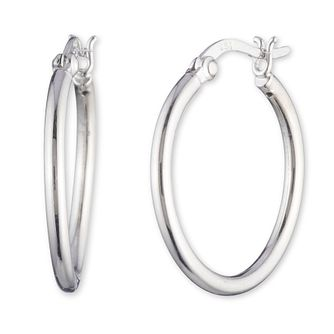 Lauren Ralph Lauren Sterling Silver 23mm Hoop Earrings - Product number 5200245