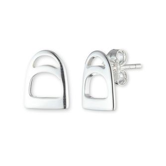 Lauren Ralph Lauren Sterling Silver Stirrup Stud Earrings - Product number 5200326