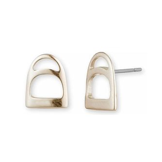 Lauren Ralph Lauren Gold Plated Stirrup Stud Earrings - Product number 5200334