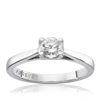 The Forever Diamond Platinum 0.38ct Ring - Product number 5204194