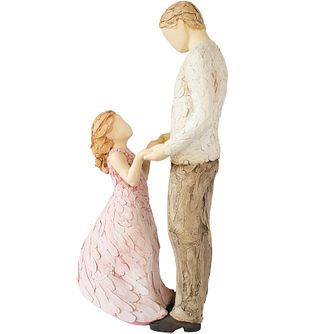 More Than Words Father and Daughter Figurine - Product number 5206928