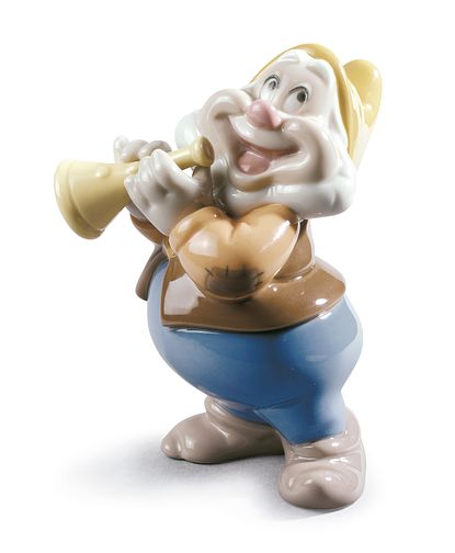 Nao Porcelain Snow White Happy Dwarf Figurine - Product number 5209188
