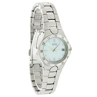 Citizen Eco-Drive Ladies' Stainless Steel Bracelet Watch - Product number 5210194