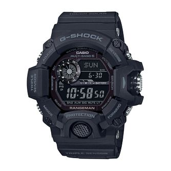 Casio G-Shock Black-Out Rangeman Men's Silicone Strap Watch - Product number 5210321