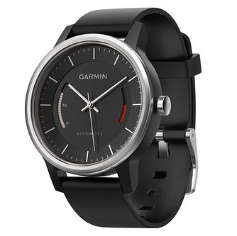 Garmin Vivomove Sport Black Activity Tracker - Product number 5210585