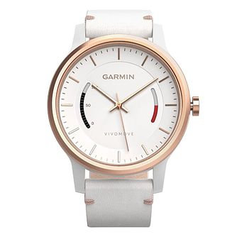 Garmin Vivomove Classic Activity Tracker - White - Product number 5210615