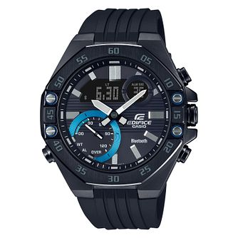Casio Edifice Men's Black IP Bracelet Watch - Product number 5211751