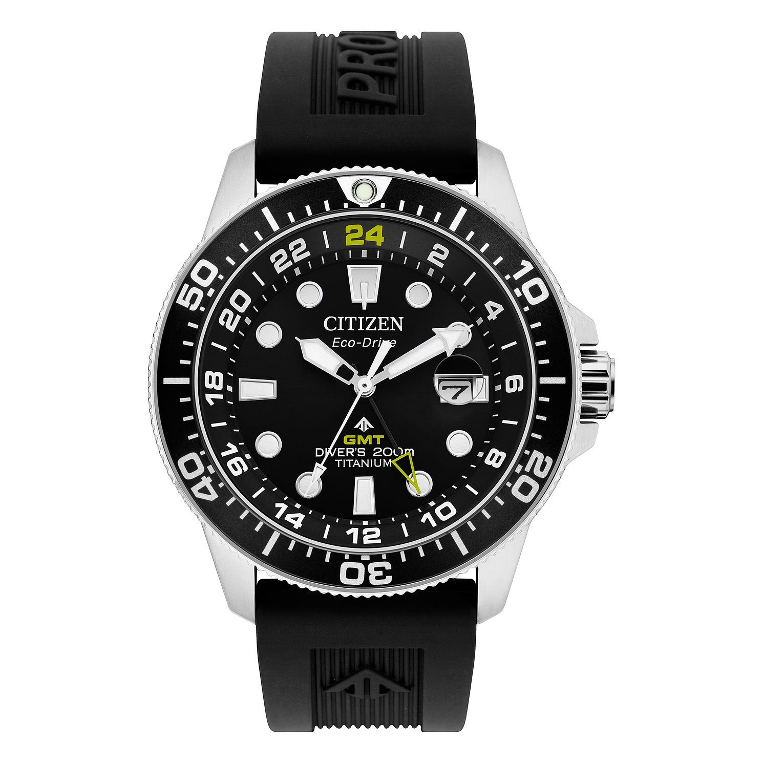 Citizen Promaster Men's Black Rubber Strap Watch - Product number 5212855