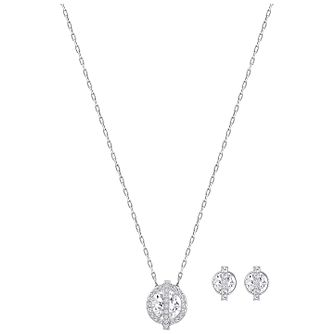 Swarovski Favor Crystal Earrings and Pendant Set - Product number 5217768