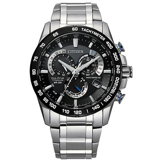Citizen Eco-Drive PCAT Men's Titanium Bracelet Watch - Product number 5218055