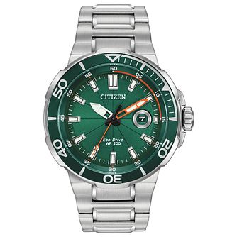Citizen Endeavour Men's Stainless Steel Bracelet Watch - Product number 5218292