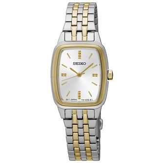 Seiko Conceptual Ladies' Two Colour Bracelet Watch - Product number 5222222