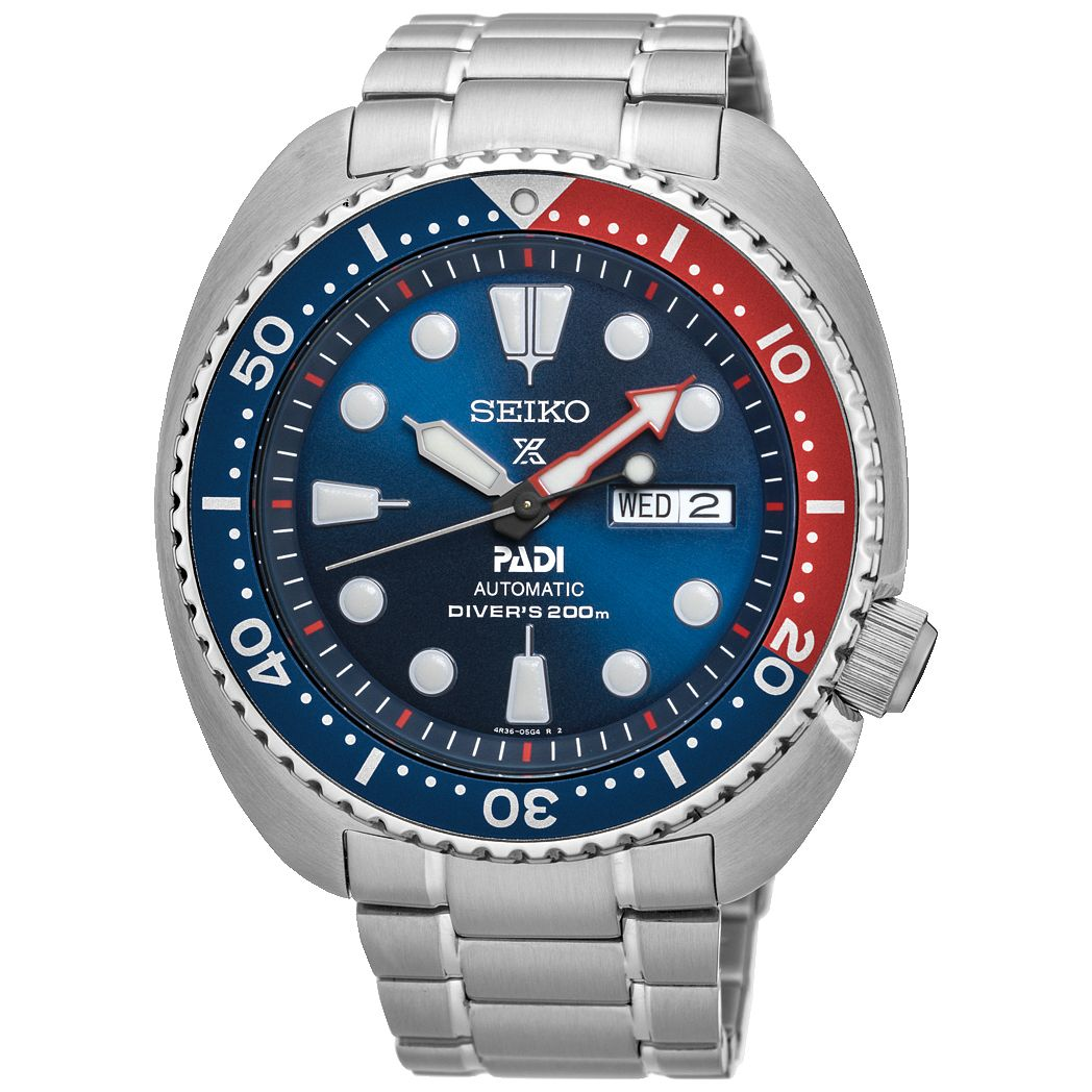 Seiko Prospex PADI Men's Stainless Steel Bracelet Watch - Product number 5222354