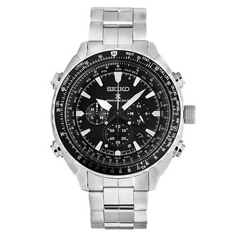 Seiko Prospex Radio Sync Solar Men's Stainless Steel Watch - Product number 5222516