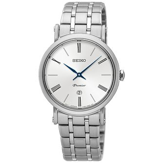 Seiko Premier Ladies' Stainless Steel Bracelet Watch - Product number 5222591