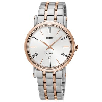 Seiko Premier Ladies' Two Colour Bracelet Watch - Product number 5222605
