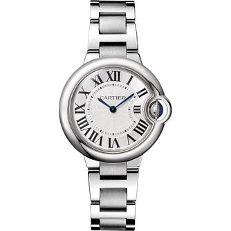 Cartier Ballon Bleu Ladies' Stainless Steel Bracelet Watch - Product number 5222826